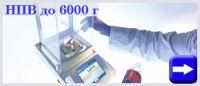 Лабораторные весы до 6000 г