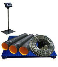 Весы низкопрофильные серии ЦИКЛОП платформа 1200х1200мм